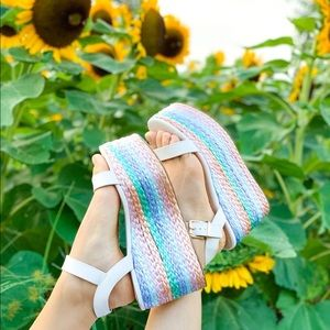Rainbow Dreams Wedges